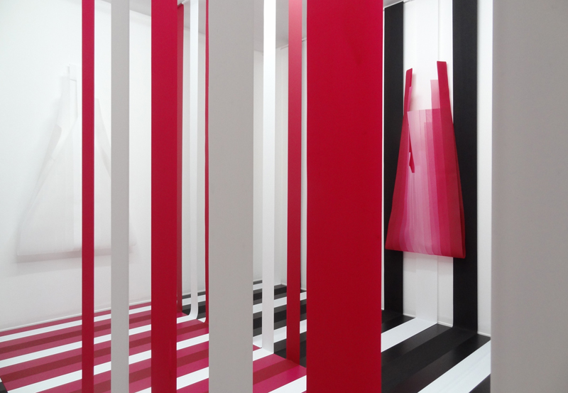 Ingrid K�seler: Performed Lines 2015 Installation view